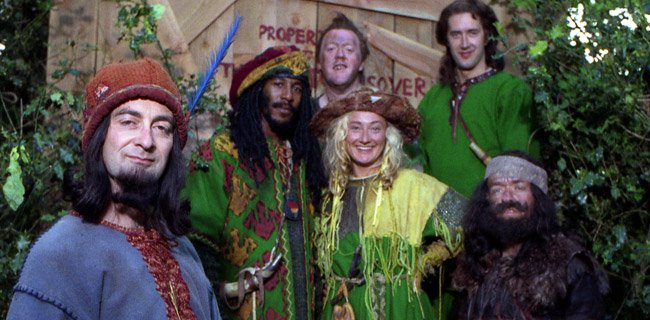 Over 20 years since the show ended, but less than 2 weeks till the cast reunite again at #ThamesCon2018 We are SO excited to welcome @DannyJohnJules @dave_backwell @adammorris101 @Tony_Robinson Kate Lonergan &amp; Mike Edmonds #MaidMarianAndHerMerryMen #Worksop #pancakeday <br>http://pic.twitter.com/LvvE1lwS8o