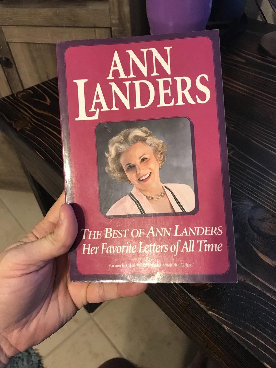 Anne landers sucks the expert