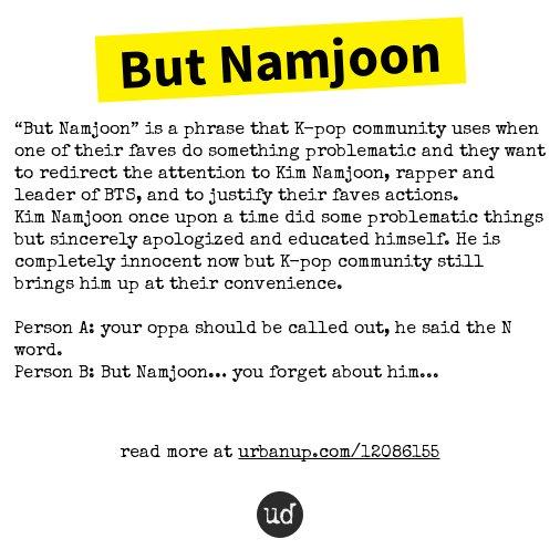 "@aldornu But Namjoon: ""But Namjoon"" is a phrase that K-pop community use... https://t.co/f75fXCdRCi https://t.co/dfQori44km"