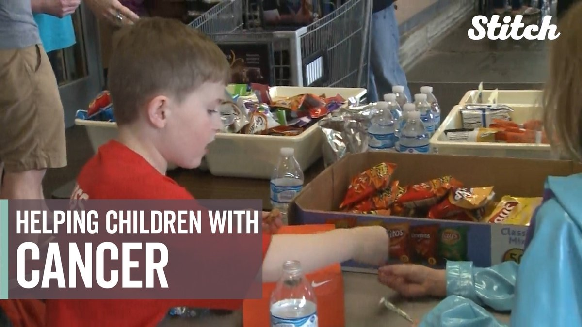 7-year-old boy raises money for kids with cancer dlvr.it/QPdwH1