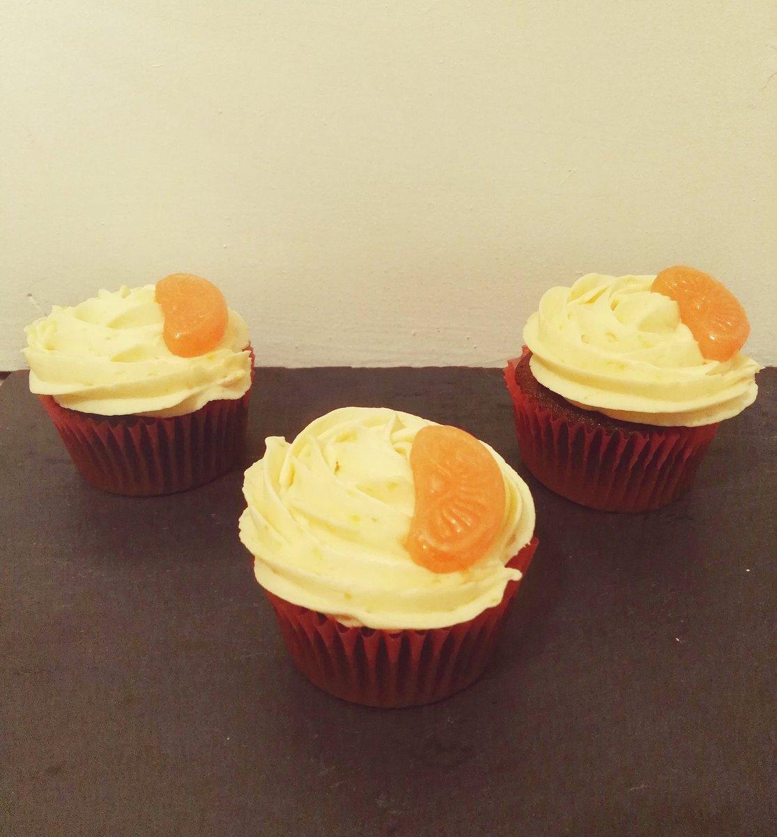 Cupcakes de naranja y chocolate https://...