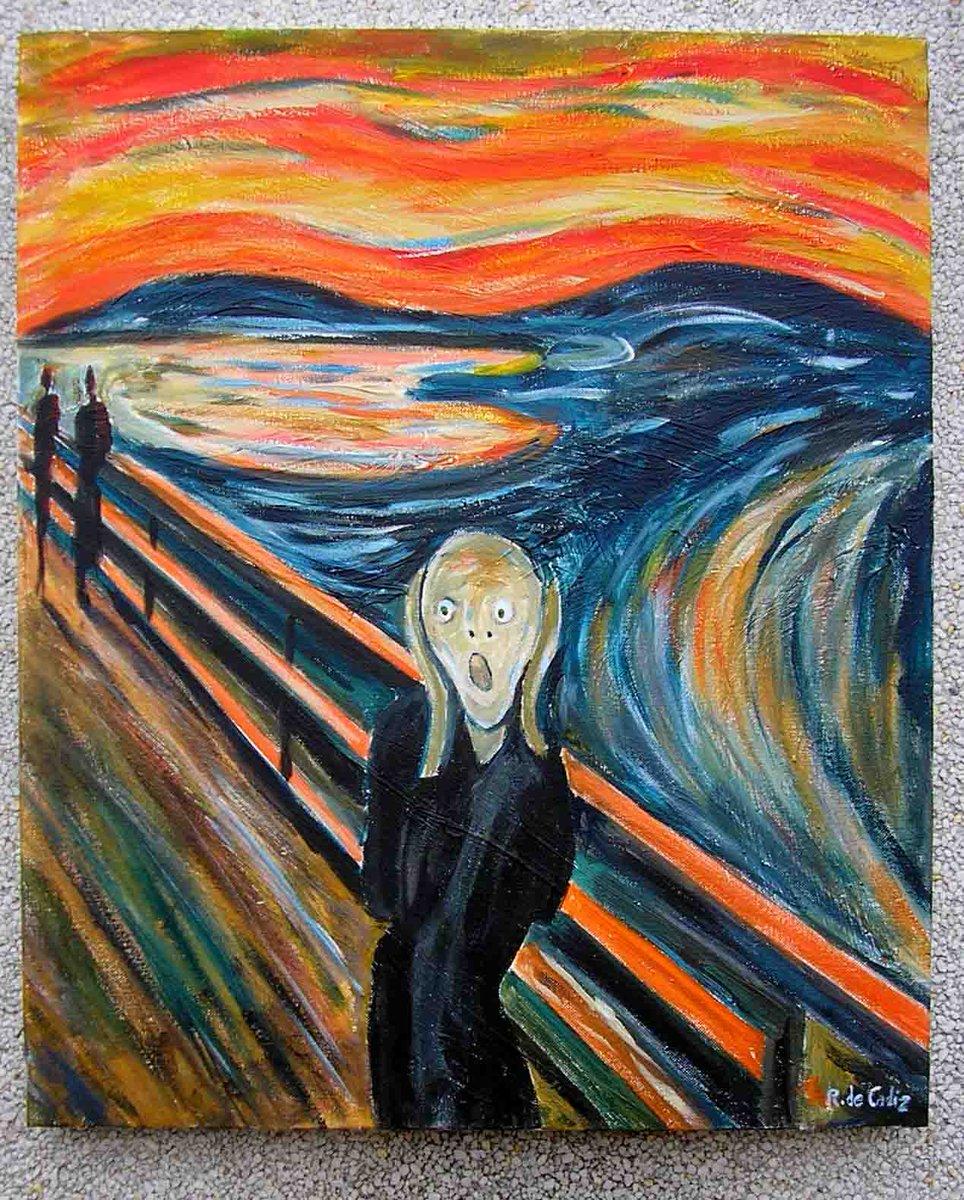 #DiaMundialDelArte El arte nos invade 😱😱...
