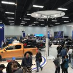 Motorshow enthusiasts enjoying the @yegmotorshow at the @FordCanada exhibit with 2018 and 2919 models like Edge ST, Ranger and Mustang Bullitt! Hurry before it's over!  #ford #gofurther #exploremore #yeg