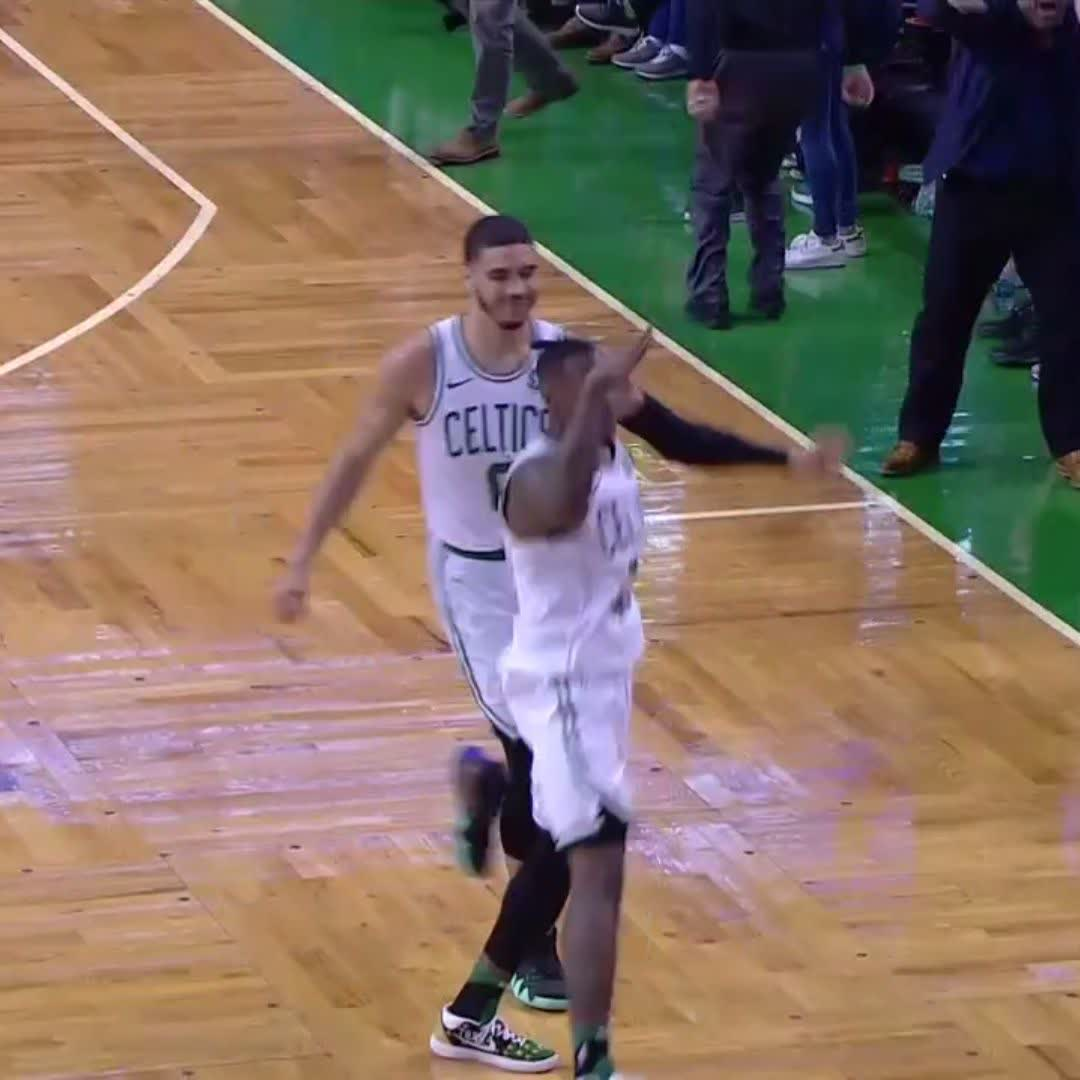 TERRY ROZIER SHAKES BLEDSOE FOR THE BIG TIME ��! ������  #NBAPlayoffs https://t.co/H2e8dJ4cvl