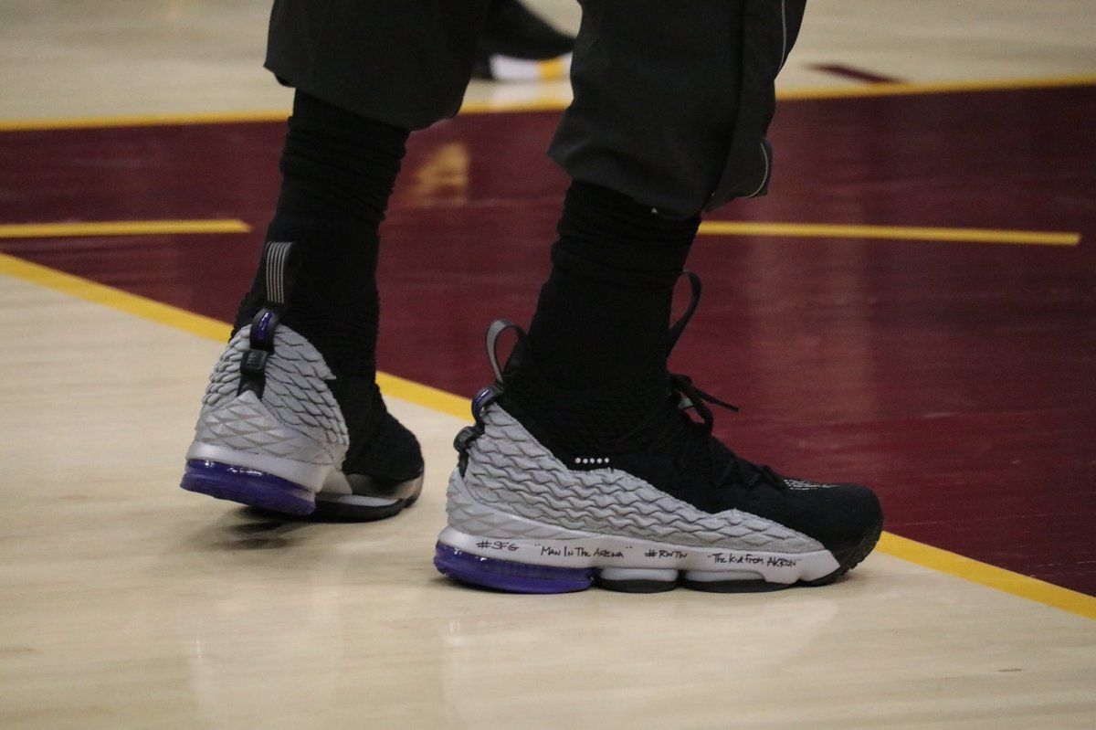 cb1d51b5256057 sheesh kingjames in a lebron 15 inspired by vince carter s shox bb4