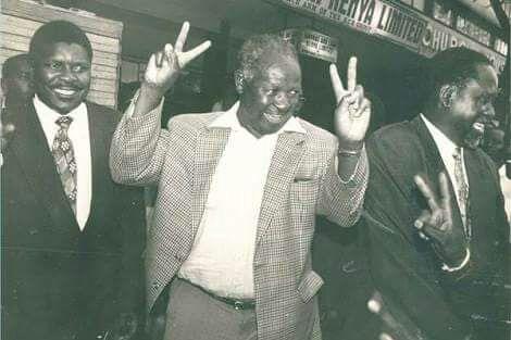 Kenneth Matiba Photo