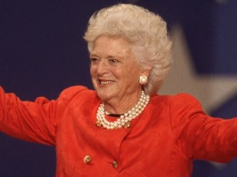 Here's to Barbara Bush—an American icon and Texas legend. Our prayers are with you.