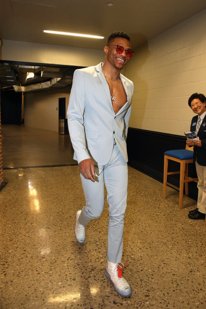 Russell Westbrook just makes everyone around him happy.
