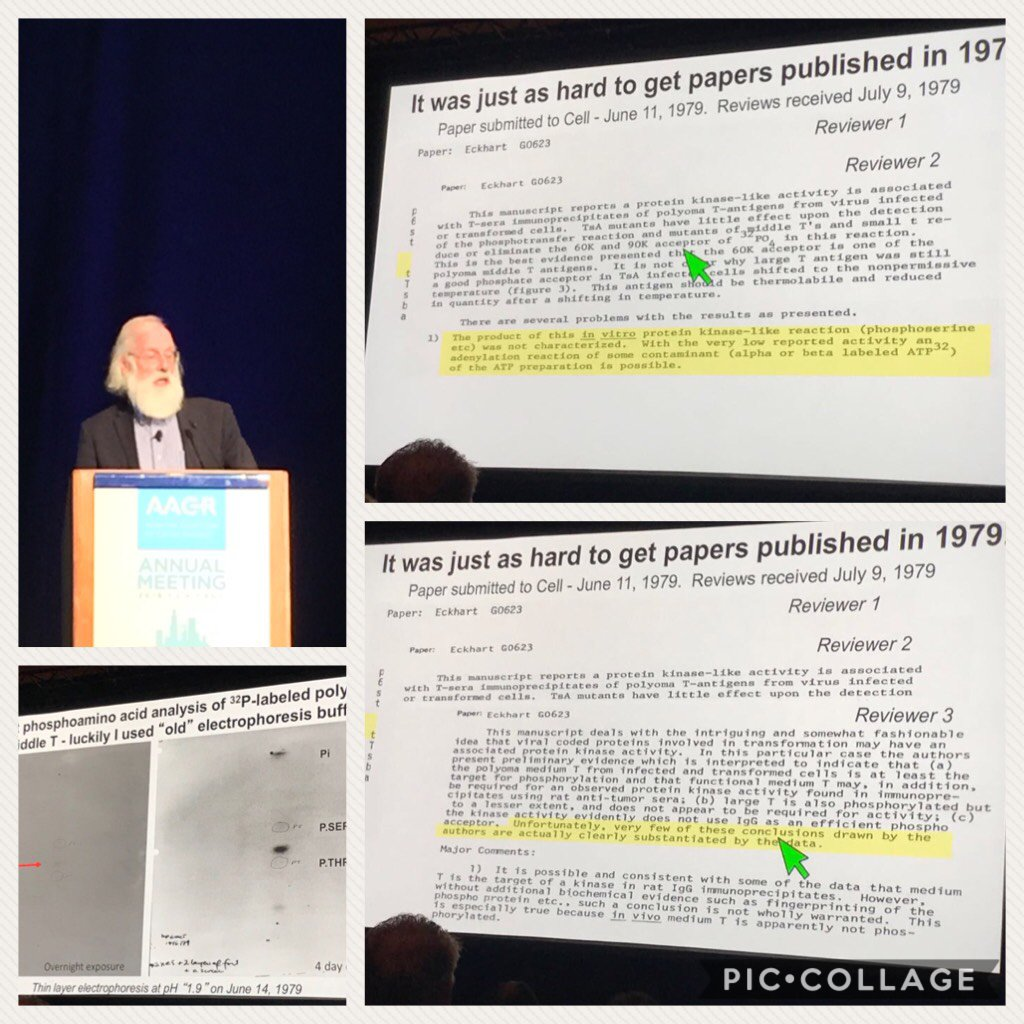 Tony Hunter giving hope to many of us at the #AACR2018 #publishorperish #publishing  https:// piccollage.com/_ZeW7D9r0  &nbsp;  <br>http://pic.twitter.com/GReg5VBCV7