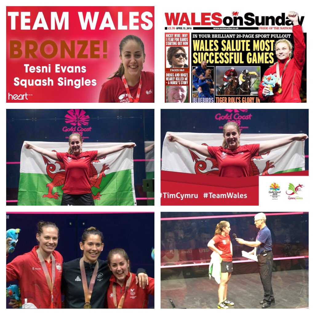 CG2018 well done  - @tesnievans - Commonwealth Bronze - @sport_wales @TeamWales #performance <br>http://pic.twitter.com/VANULX06ej