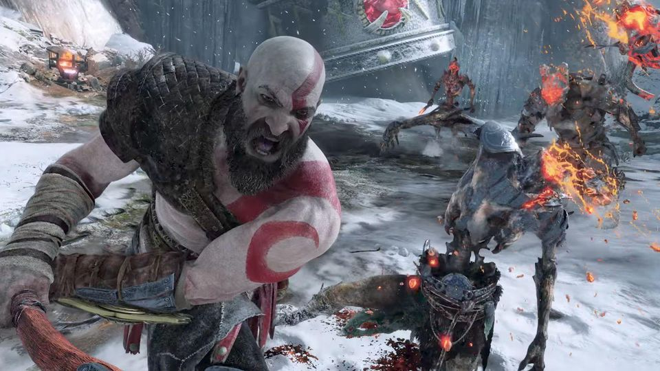 God of War has ascended to #2 on the All-Time PS4 Rankings: https://t.co/ECRSxBNlHe https://t.co/9Cnnd0GfJc