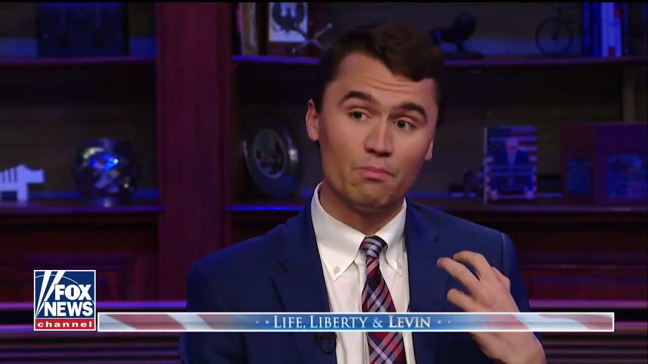 .@charliekirk11 on @TheDemocrats' foreign policy: 'Arm our enemies and put America in a jeopardizing position.' https://t.co/dqpTvHwPZU