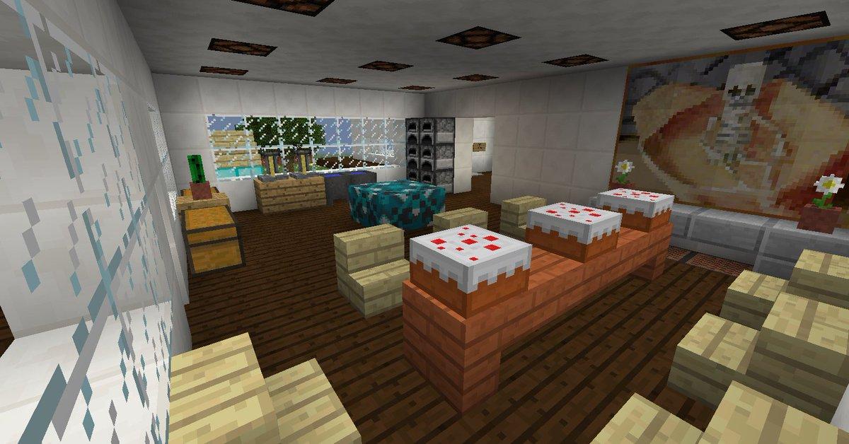Lujo Ideas De Cocina Modernos Minecraft Festooning - Ideas para ...