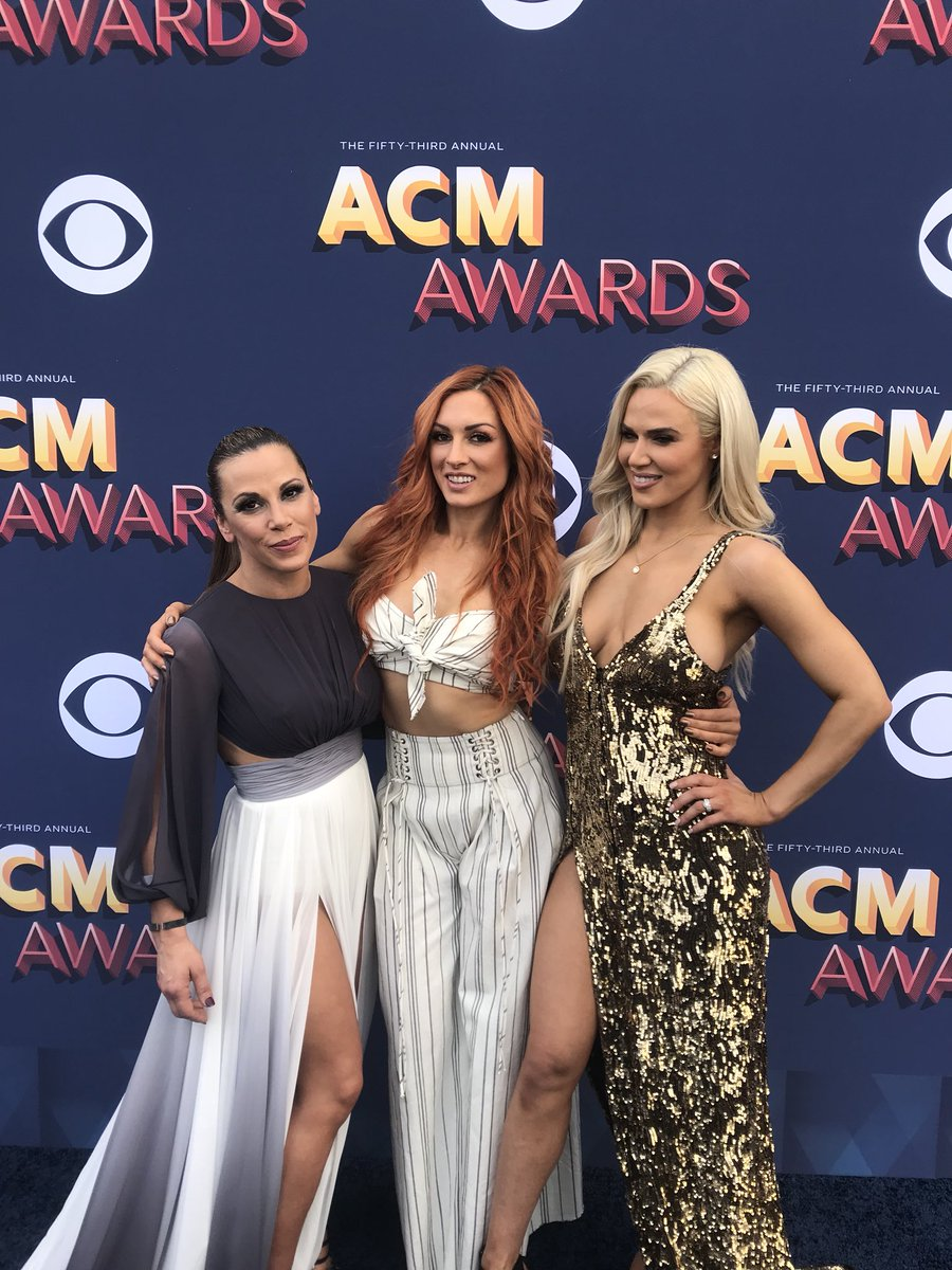 We're out here! #ACMAwards