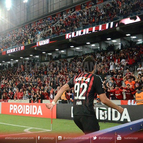 Quatro vitórias seguidas no Caldeirão! 🌪️  Atlético 2x1 São Paulo Atlético 2x0 Coritiba Atlético 3x0 Newell's Atlético 5x1 Chapecoense  🔴⚫️