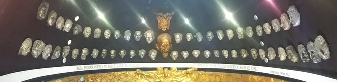 Happy Birthday No-one , this is a collection of mask for you from my country, Ecuador, Ly