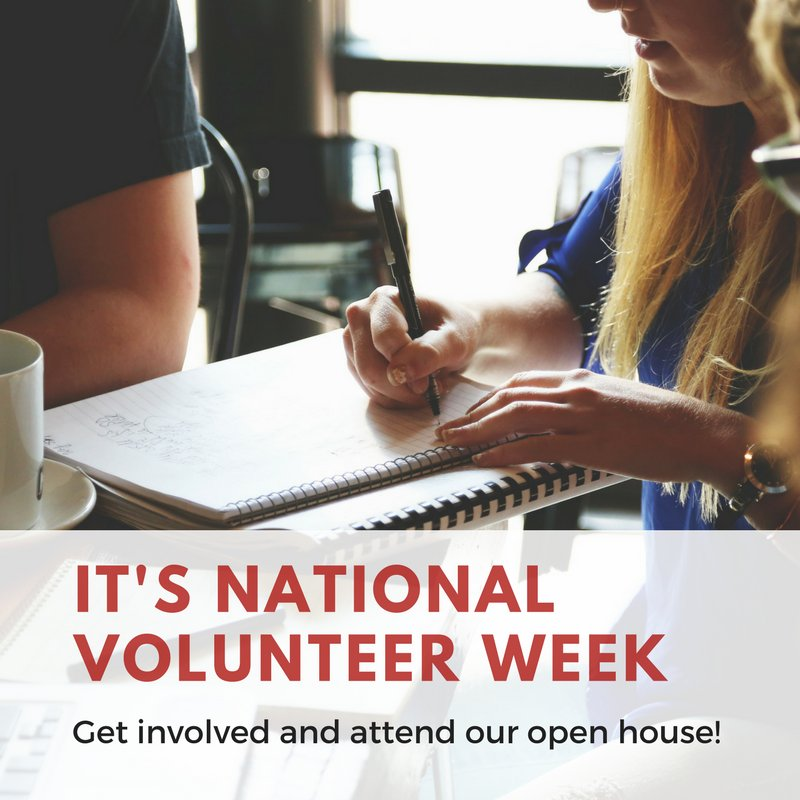 April 15 - 21 is National Volunteer Week.  We would like to thank all of our wonderful volunteers that are working hard planning #SOM2018. For anyone interested in getting involved, we are hosting a volunteer open house on April 21 from 2-4pm  http://ow.ly/MdyZ30juCWA
