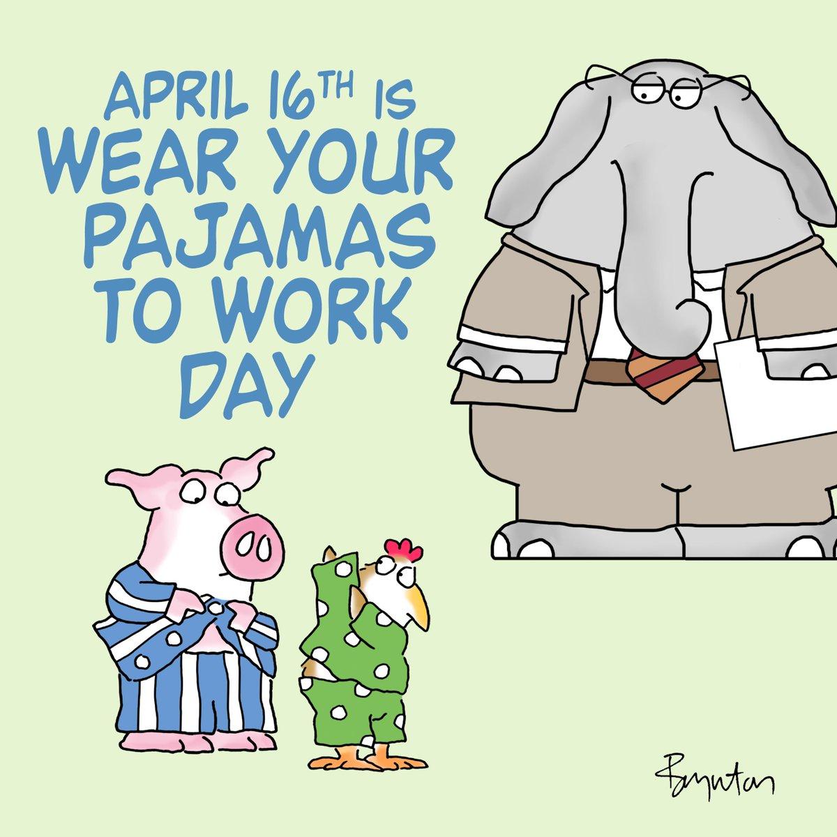 Important Public Service Announcement. #WearYourPajamasToWorkDay #MondayMotivaton<br>http://pic.twitter.com/vQxDqxprrd