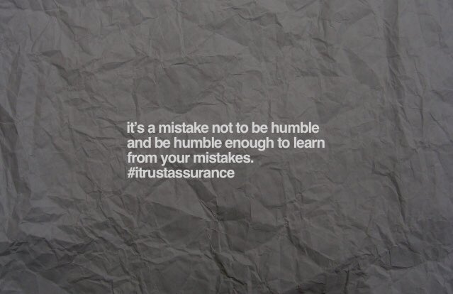It's a mistake not to be humble and be humble enough to learn from your mistakes. #learn #grow #push #Entrepreneur #businessowner #StartYourImpossible #Motivation #positivity #PositiveMentalAttitude #SuccessTRAIN #Successful #MondayMotivation #rt<br>http://pic.twitter.com/pe0o3ajtcJ