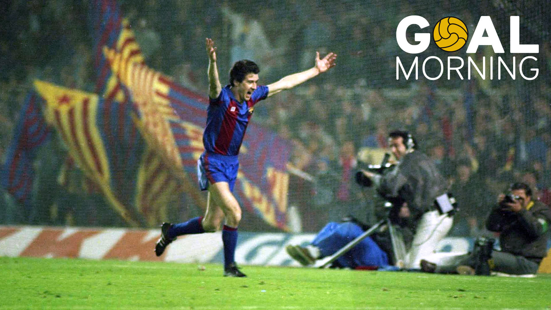G⚽️AL MORNING!!!  Today marks 32 years since 'Pichi' Alonso's hat trick against Göteborg https://t.co/4Y9JRy4VS8