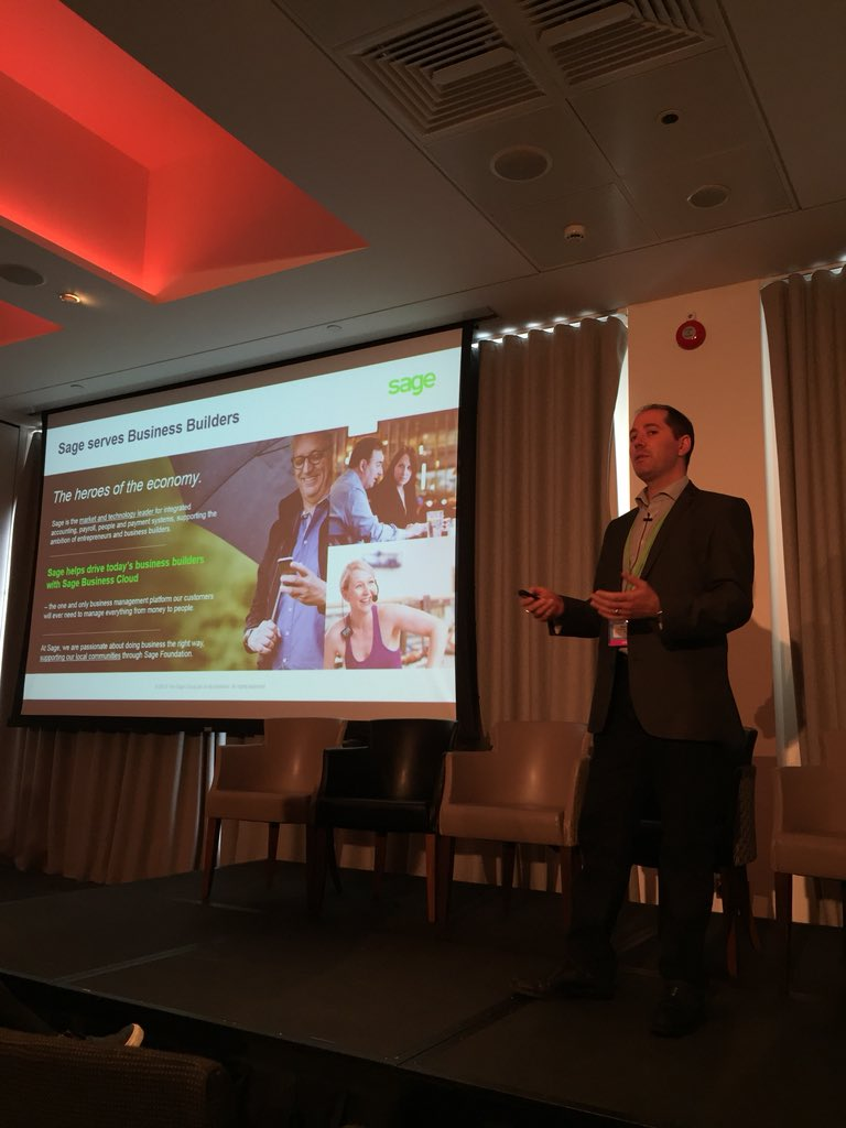 'The stories and scandals in #SocialMedia in the past months have resulted in a lack of trust. #EmployeeAdvocacy is the best way to get that back as we bring in the human to human element.' - @MarkAbrami , Director of Social Media at @sagegroupplc #dmwf @DigiMarketingWF<br>http://pic.twitter.com/cDVQfNdqar