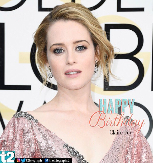 She wears the Crown like no one else. Happy birthday to the stunning Claire Foy!