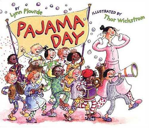 Put on your fuzzy slippers and grab some #kidlit from @LynnPlourde for #WearYourPajamasToWorkDay. <br>http://pic.twitter.com/4K1f2bTE0n