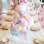 """251 Likes, 8 Comments - RUBY RABBIT #partyshop (@rubyrabbitparty) on Instagram: """"??? First birthday party table ? Pink + rose gold flamingo party by @lifeslittlecelebrations as…"""" This fantastic party idea was featured today on https://t.co/2n0L40LUCS! #partyideas #party #birth…"""