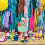 """441 Likes, 4 Comments - Poppies For Grace (@poppiesforgrace) on Instagram: """"Party chaos. ?"""" This fantastic party idea was featured today on https://t.co/2n0L40LUCS! #partyideas #party #birthdayparty #holiday #celebrate #birthday#partydecor #printables #freeprintables #partypri…"""