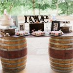 """114 Likes, 2 Comments - Details Party Rental (@detailspartyrental) on Instagram: """"Vintage wine barrels make any event more fun! We love the wooden accents and personality of this…"""" This fantastic party idea was featured today on https://t.co/2n0L40LUCS! #partyideas #party #bir…"""