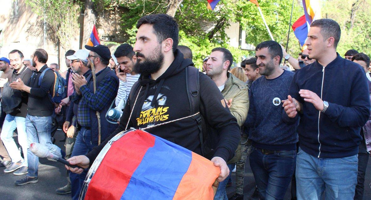 Беспорядки в Ереване. 16.04.2018