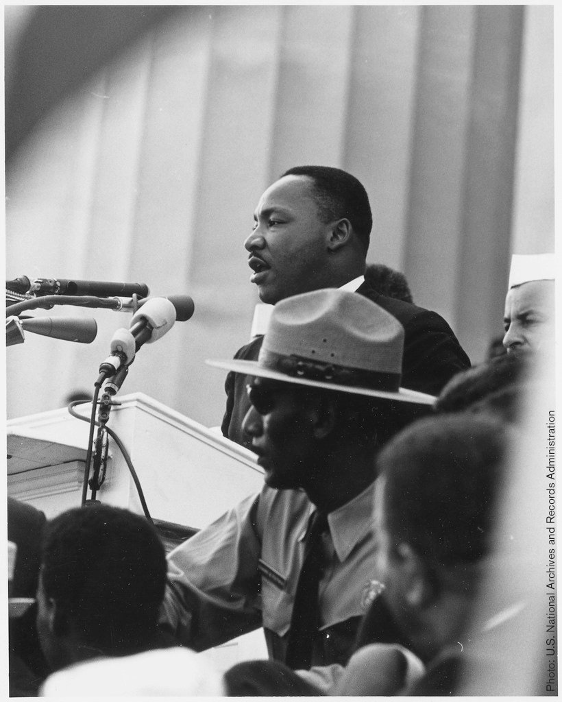 On 19 May 1963 excerpts from Martin Luther Kings Letter from Birmingham Jail were published. The text, written on 16 April, in the margins of a newspaper became an important text for the Civil Rights movement.