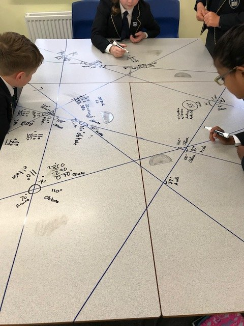 Hill house school key stage 2 on twitter year 5 undertook an the children had to use the tape that was stuck to the tables to work accurately measure angles ccuart Gallery