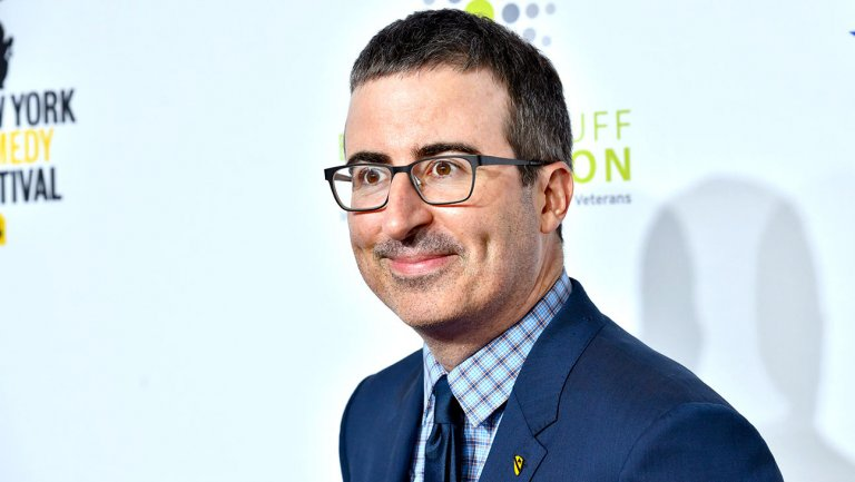 Hollywood Reporter's photo on John Oliver