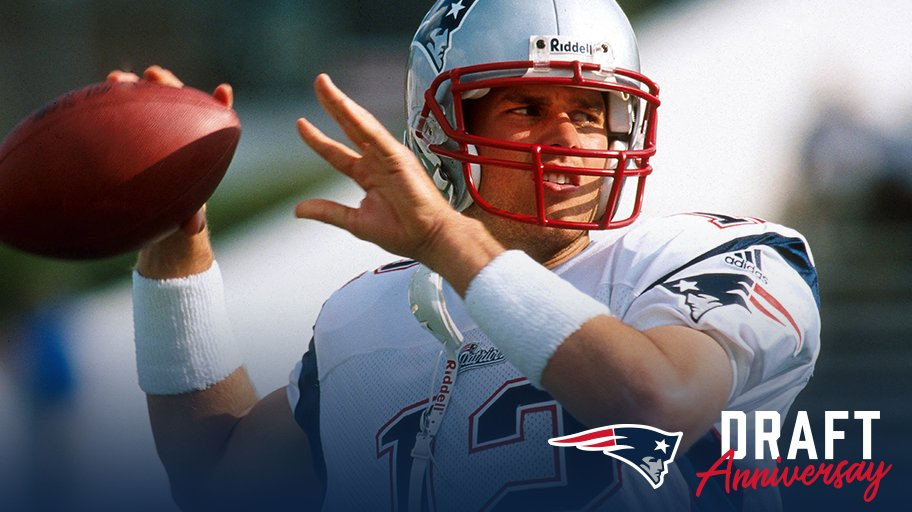 18 years ago today, TB12 became a Patriot. https://t.co/5r4hYQjc2I
