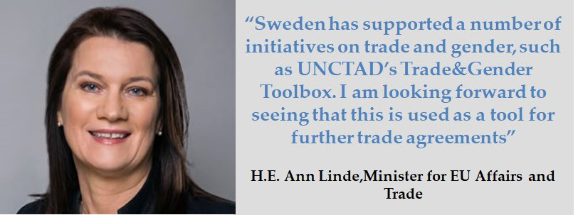 Unctad On Twitter Annlinde Sweden Has Supported A Number Of