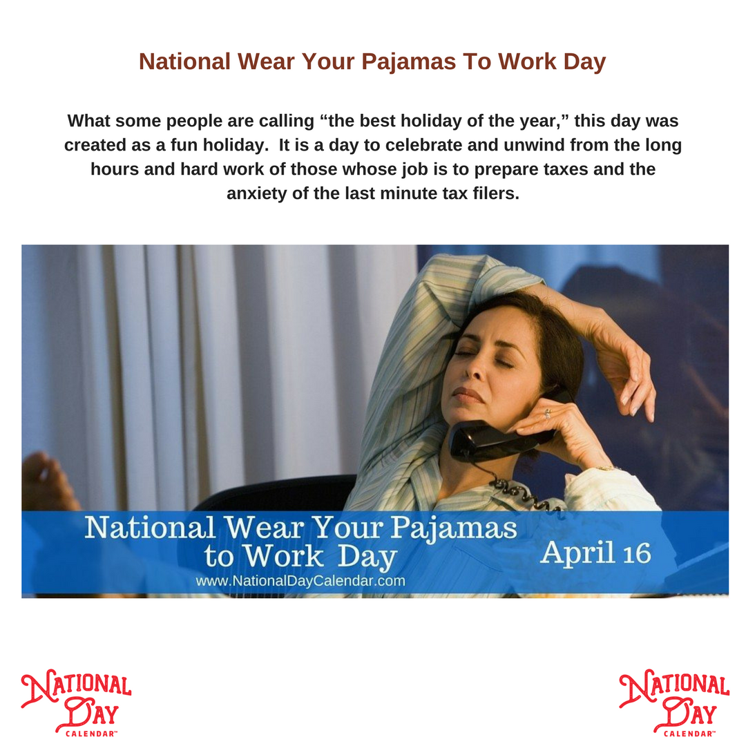There must be a few people out there in this digital age who really do get to work in their PJ&#39;s - maybe you are one of the fortunate ones...  #WearYourPajamasToWorkDay   http:// ow.ly/o7CA30jsUn6  &nbsp;  <br>http://pic.twitter.com/xCLeFBJBMz