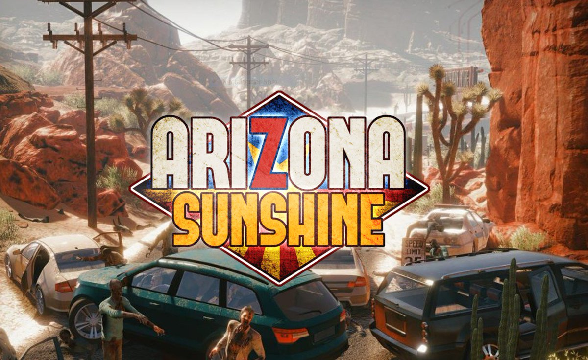016fa150ce2 Grab your chance to get  ArizonaSunshine with a 60% discount while you  still can. Go show those zombies what you ve got  http   bit.ly 2BuZ1zN ...