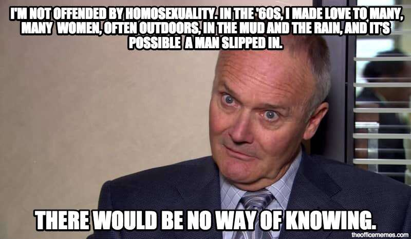 Creed Bratton Quotes On Twitter Gorgeous Creed Quotes