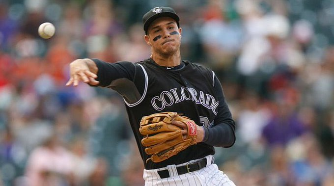 Happy 27th Birthday to third baseman, Nolan Arenado!