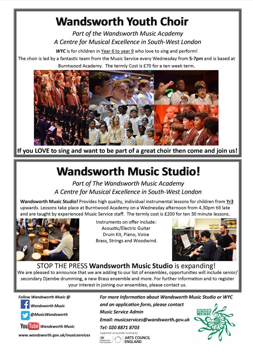 Wandsworth Music على تويتر: