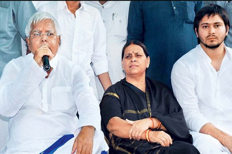 CBI files charge-sheet in IRCTC scam against former Union railway minister Lalu Prasad Yadav, his wife Rabri and son Tejaswi: TIMES NOW