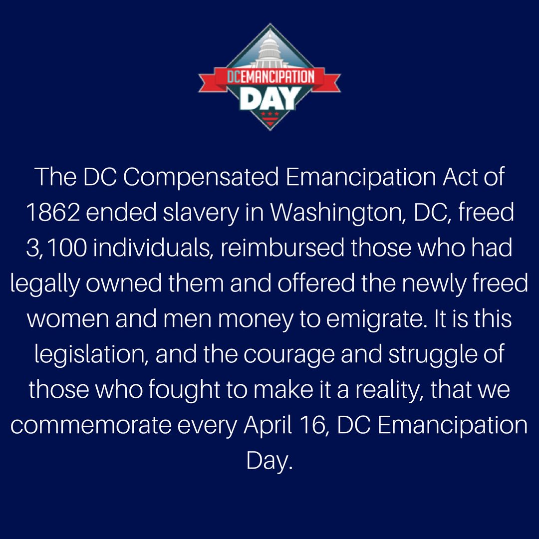 #MorningMotivation: Howard University MS2 proudly observes D.C. Emancipation Day by participating in community service. Here&#39;s why! #EmancipationDay <br>http://pic.twitter.com/iJGYq6EWYn
