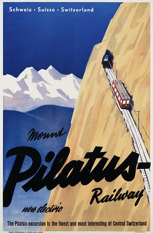 Da5EGIFXcAAqf5A - The Pilatus Bahn at 130