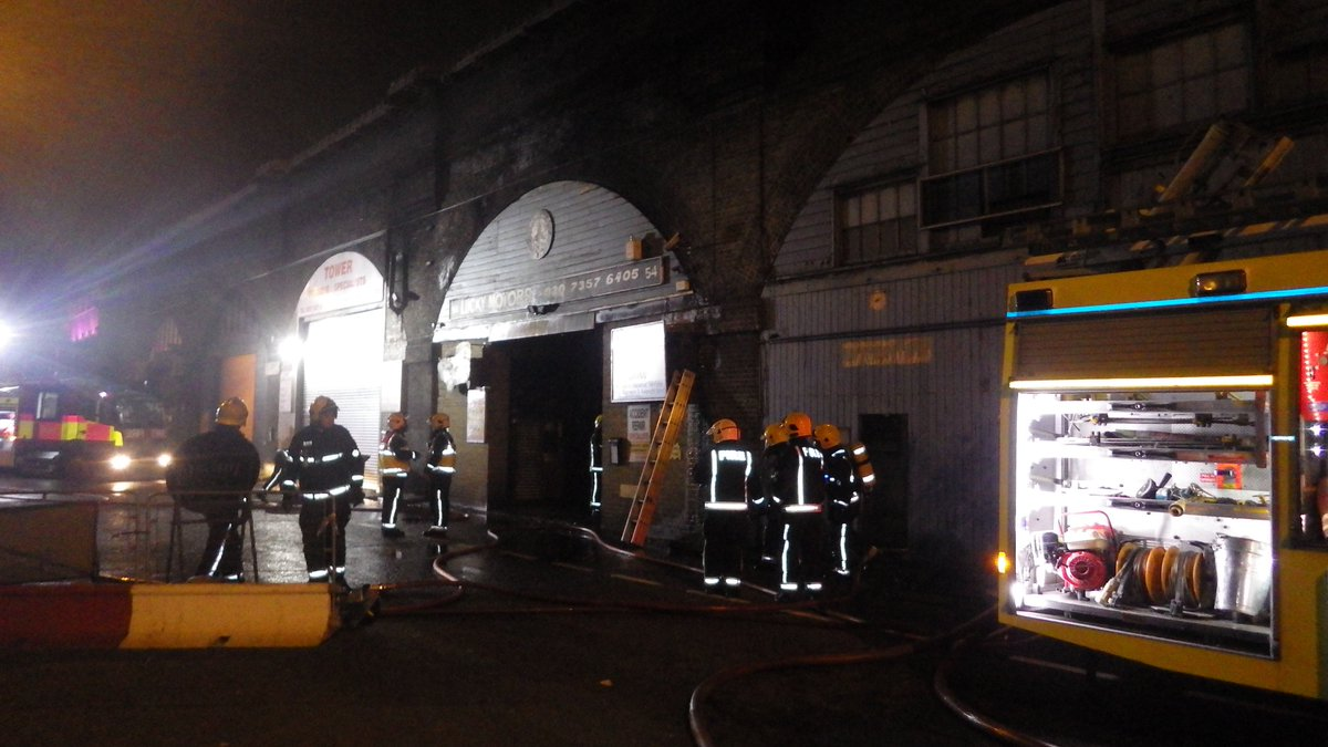 Part of a car workshop was damaged in #Bermondsey fire #ThisWeek https://t.co/Eao9zVfPZ4