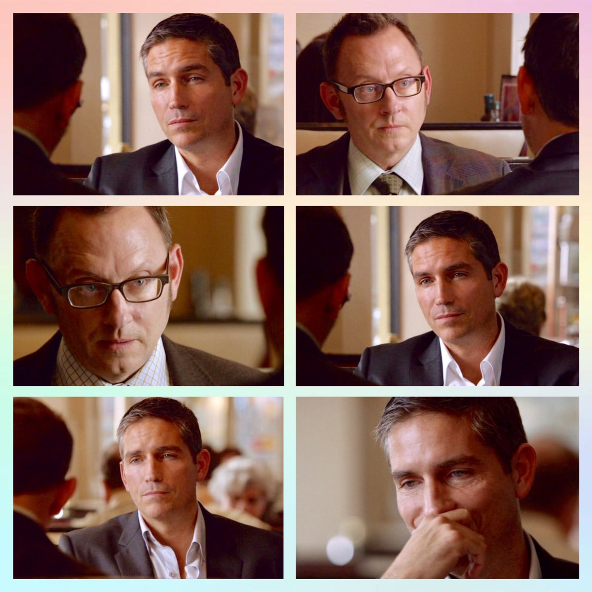 #PersonOfInterest #JimCaviezel #MichaelEmerson #JohnReese #HaroldFinch  &quot;Try the eggs Benedict, Mr.Reese. I've had them many times!&quot;  Happy #NationalEggsBenedictDay everyone! #MondayMotivaton<br>http://pic.twitter.com/1Eb0liceLB