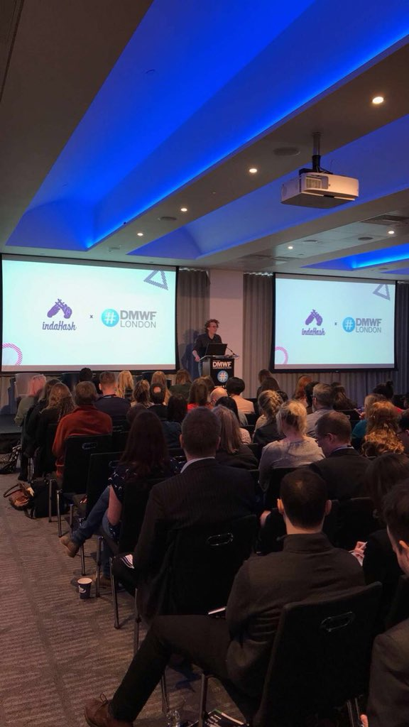"""""""People no longer trust #celebrities, they trust #influencers because the content is authentic"""" - Joe, indaHash Evangelist speaking on """"The Nature of Social"""" at today's #DMWF conference in London Check out the photos from the event here <br>http://pic.twitter.com/fvSh25Bwpm"""