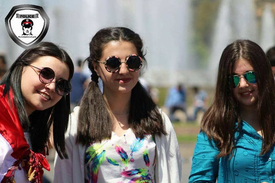 Праздник на площади Омейядов