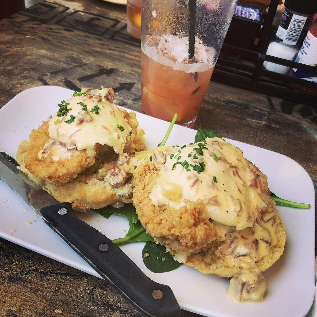 It&#39;s okay, we know #NationalEggsBenedictDay  Gabe Montanez You can find this tasty creation at The Ruby Slipper Cafe <br>http://pic.twitter.com/eQSUAGIOEf