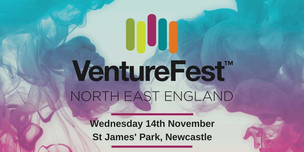 EVENT: @SuperNetworkNE have announced the date for VentureFest North East 2018. Sign up for the region's innovation conference at St James' Park on Wednesday 14th November 2018 #InnovativeNorth  https:// venturefestnortheast.com  &nbsp;  <br>http://pic.twitter.com/TWPpBFUGEe